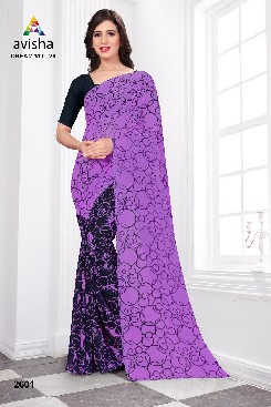 Casual Wear Georgette Saree